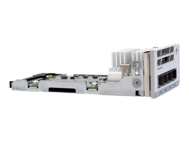 Cisco Catalyst 9200 Series Network Module - Erweiterungsmodul - Gigabit Ethernet x 4 - für Catalyst 9200, 9200L