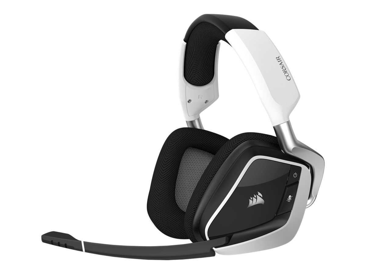 CORSAIR Gaming VOID PRO RGB - Headset - Full-Size - 2,4 GHz - kabellos - weiss