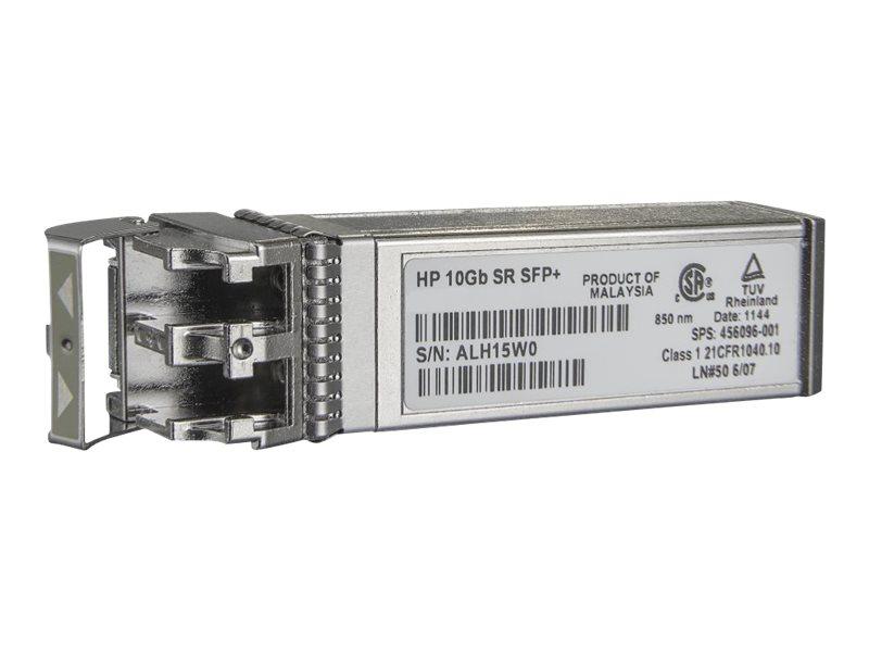 [Wiederaufbereitet] HPE - SFP+-Transceiver-Modul - 10 GigE - 10GBase-SR - LC Multi-Mode - bis zu 300 m