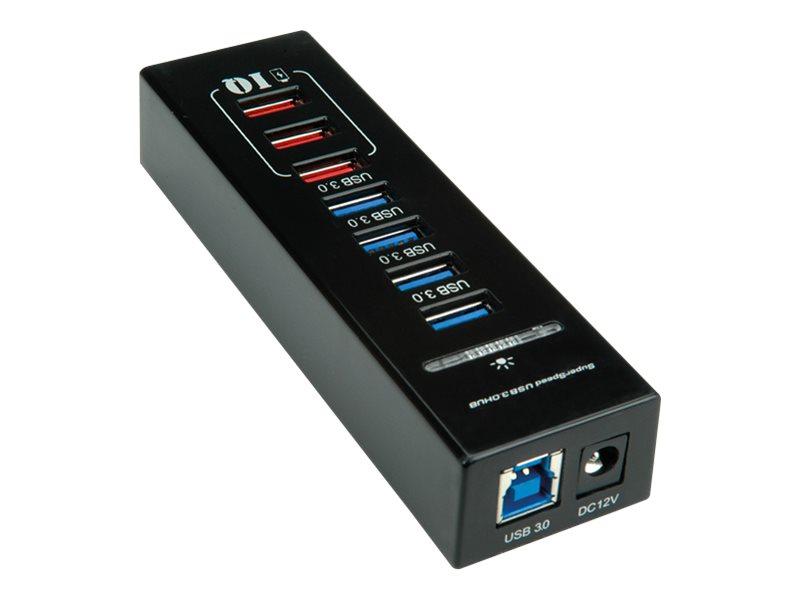 ROLINE - Hub - 4 x SuperSpeed USB 3.0 - Desktop