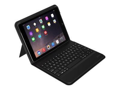 ZAGG Messenger Folio - Tastatur und Foliohülle - Bluetooth - Schweizer - für Apple 9.7-inch iPad Pro