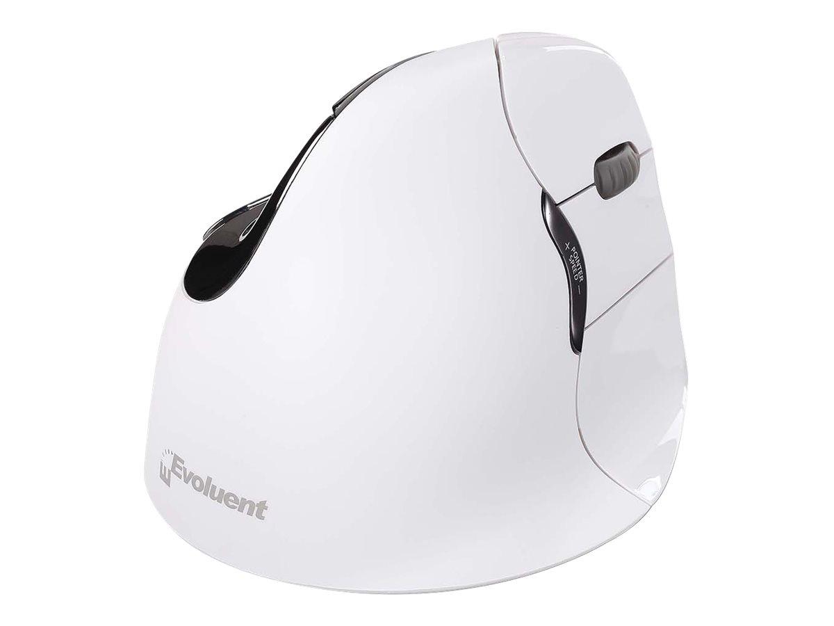 Evoluent VerticalMouse 4 Right Mac - Maus - Für Rechtshänder - optisch - 6 Tasten - kabellos