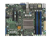 SUPERMICRO X10SDV-TP8F - Motherboard - FlexATX - Intel Xeon D-1518 - USB 3.0 - 2 x 10 Gigabit LAN, 6 x Gigabit LAN