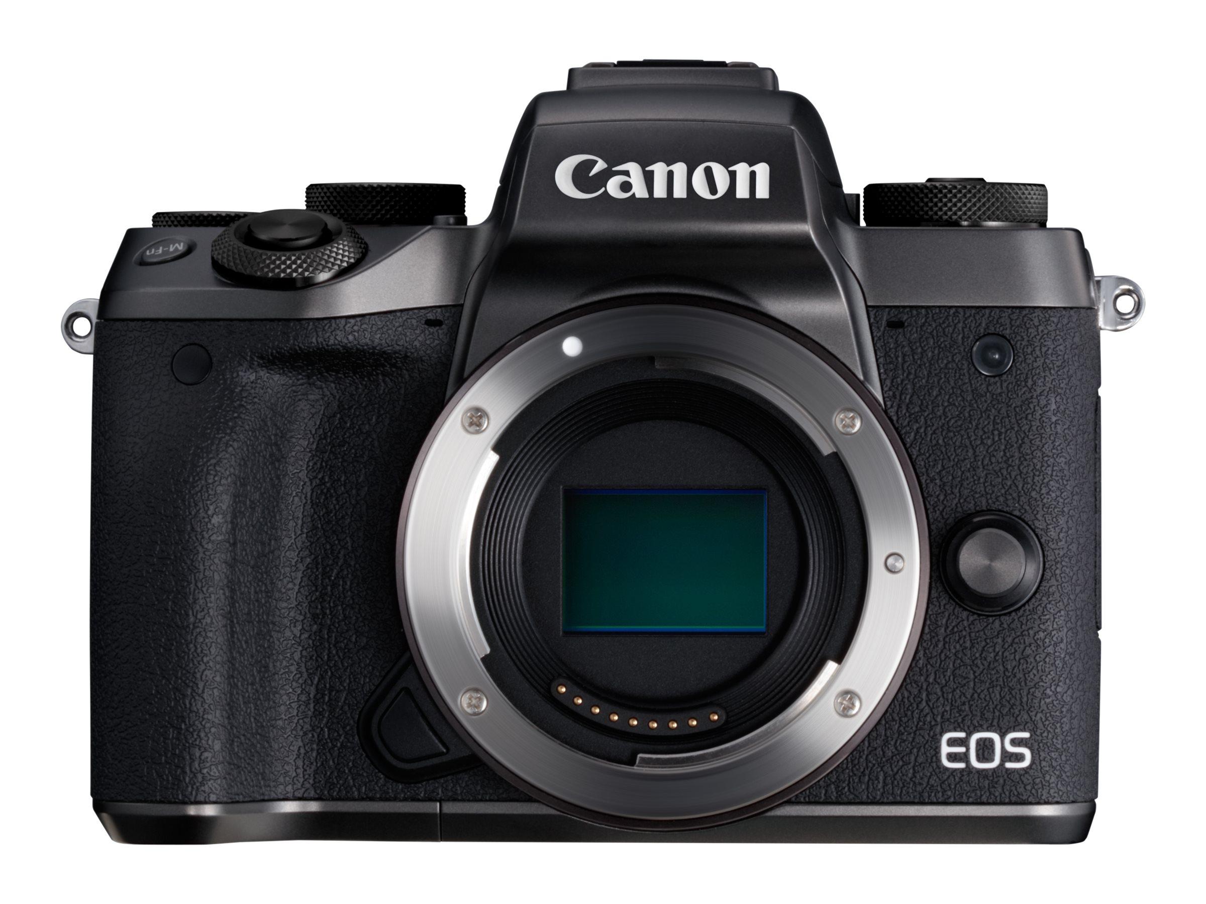 Canon EOS M5 - Digitalkamera - spiegellos - 24.2 MPix - APS-C - 1080p / 60 BpS