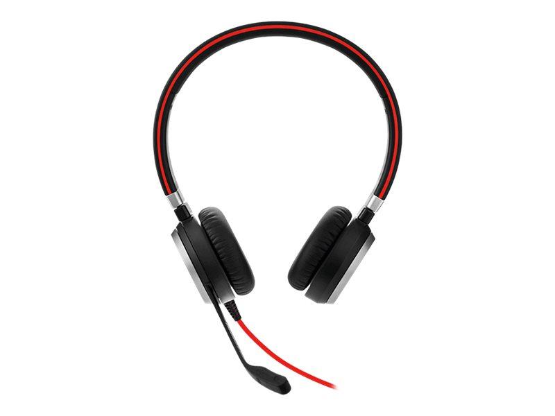 Jabra Evolve 40 Stereo - Headset - On-Ear - Ersatz - kabelgebunden