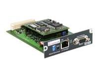 Eaton Network Management Card Transverse - Fernverwaltungsadapter - 100Mb LAN, RS-232 - 100Base-TX - für MGE UPS Comet EXtreme;