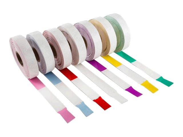 Intermec INband-II - Polypropylen (PP), Olefin-Spinnvlies - permanenter Acryl-Klebeverschluss - Oberseite beschichtet - Rot - 25