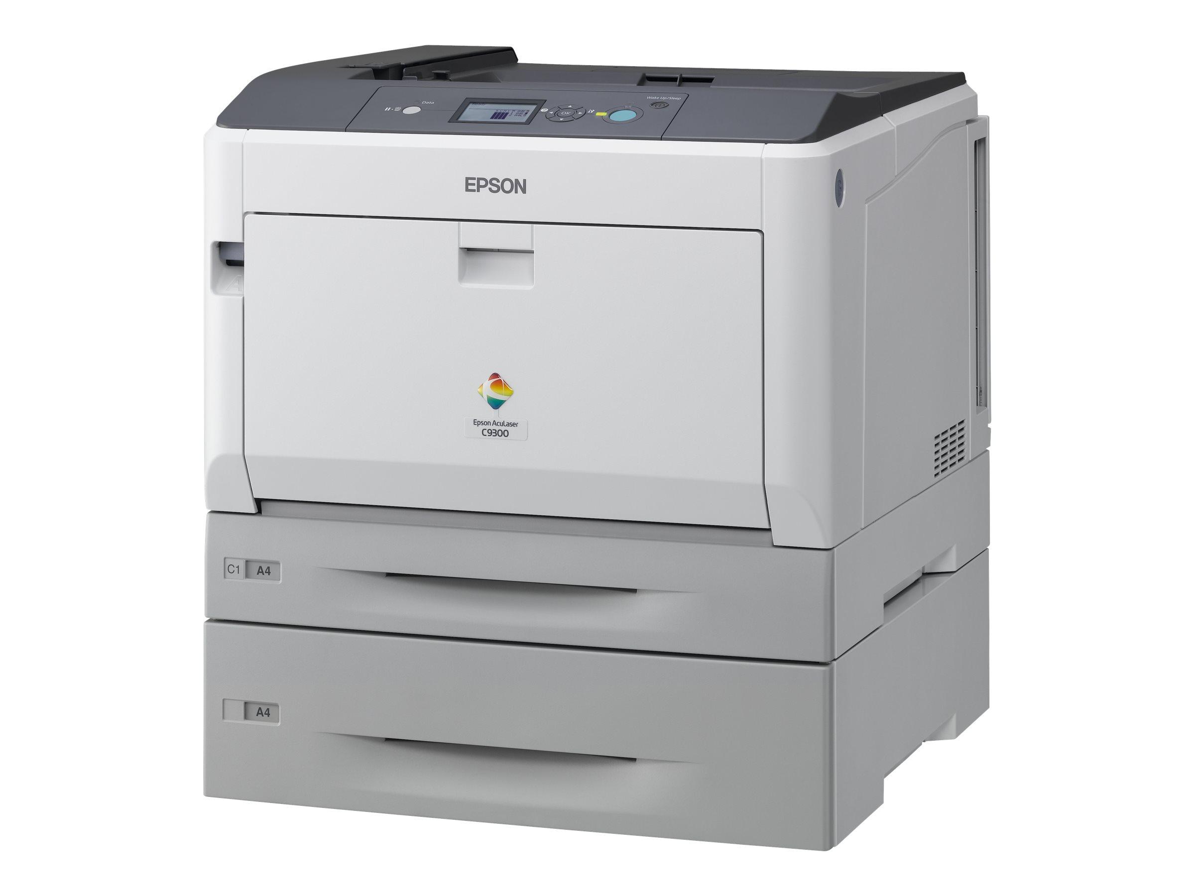 Epson AcuLaser C9300TN - Drucker - Farbe - Laser - A3/Ledger - 1200 dpi