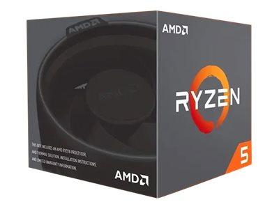 AMD Ryzen 5 2600 - 3.4 GHz - 6 Kerne - 12 Threads - 16 MB Cache-Speicher - Socket AM4