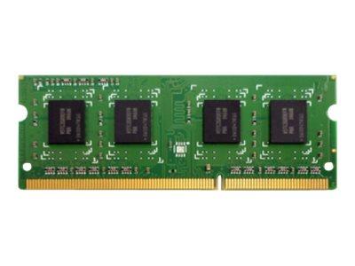 QNAP - DDR3L - 4 GB - SO DIMM 204-PIN - 1600 MHz / PC3L-12800 - 1.35 V