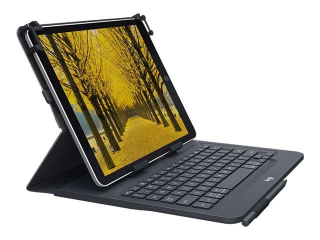 Logitech Universal - Tastatur und Foliohülle - kabellos - Bluetooth 3.0 - Schweiz QWERTZ