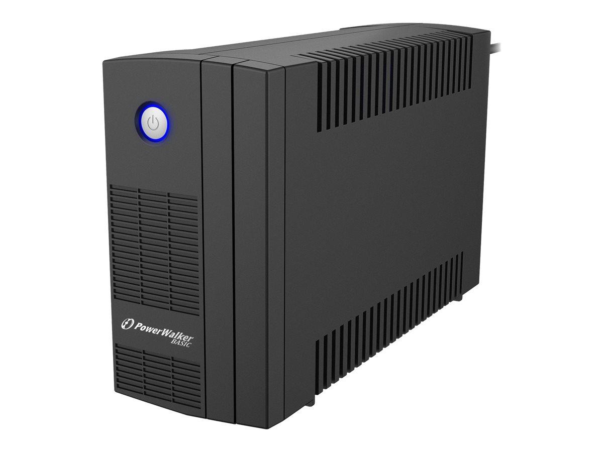 PowerWalker Basic VI 650 SB - USV - Wechselstrom 162 - 290 V - 360 Watt - 650 VA 5 Ah