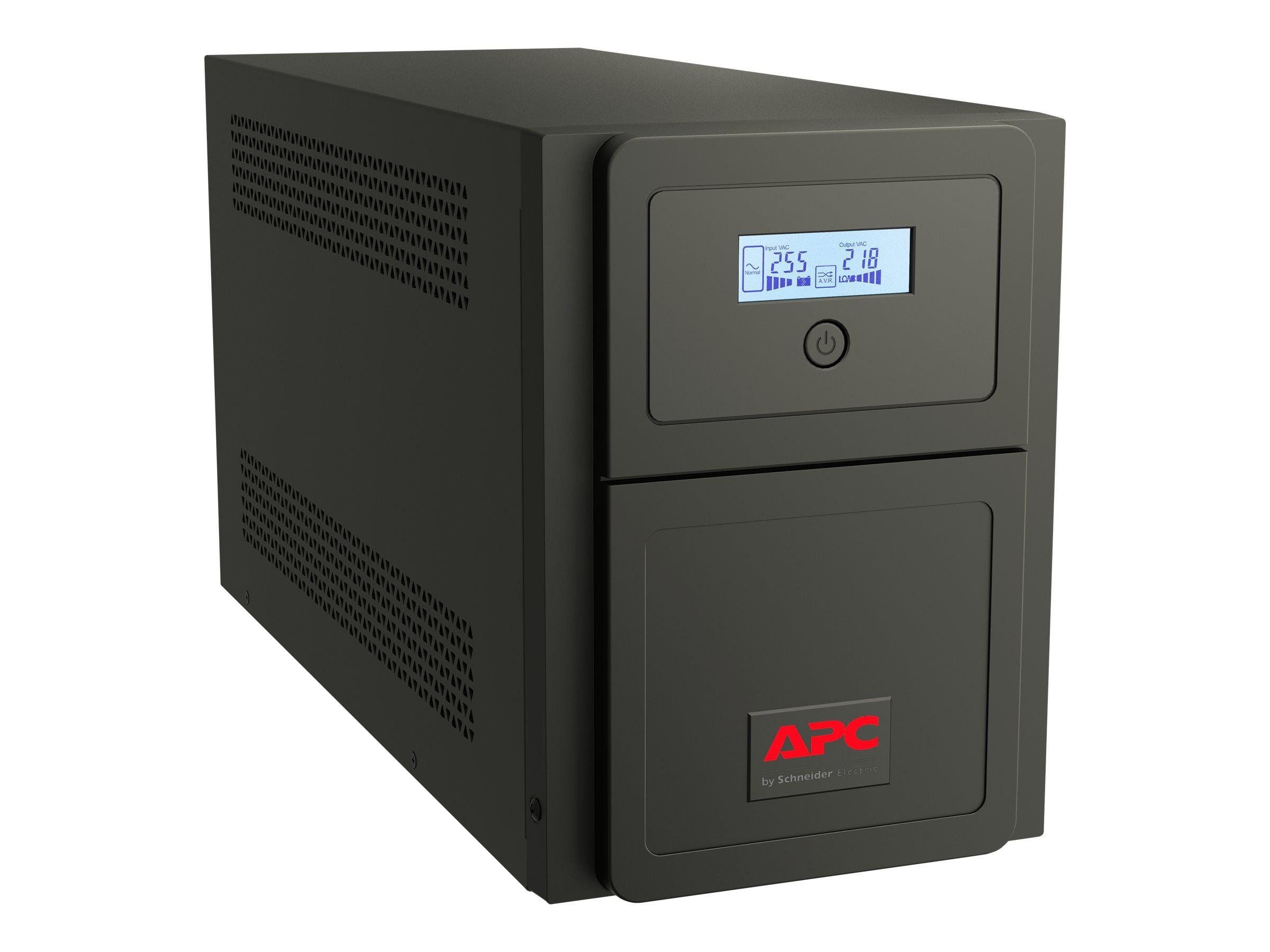 APC Easy-UPS SMV SMV750CAI - USV - Wechselstrom 220/230/240 V - 525 Watt - 750 VA 7 Ah - RS-232, USB