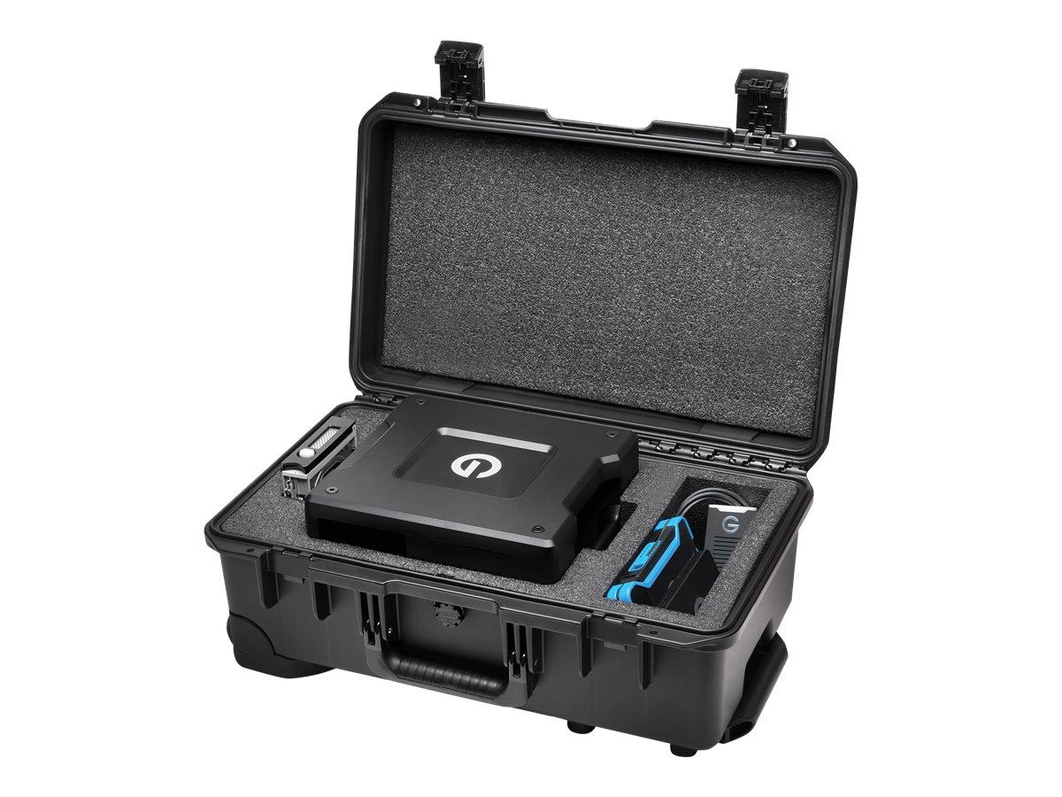 G-Technology G-SPEED Shuttle XL Pelican Storm iM2500 GSPSCIM2500SAW - Hartschalentasche für portable HDD/SSD/Bay-Adapter - für G