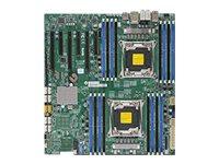 SUPERMICRO X10DAX - Motherboard - Erweitertes ATX - LGA2011-v3-Sockel - 2 Unterstützte CPUs - C612