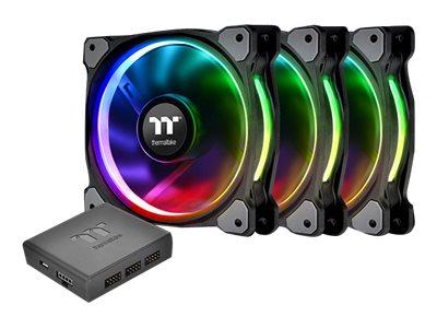 Thermaltake Riing PLUS 12 RGB Radiator Fan Lumi Plus TT - Premium Edition - System-Gebläseeinheit - 120 mm