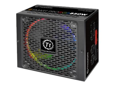 Thermaltake SMART PRO RGB SPR-850AH3FSB-R - Stromversorgung (intern) - ATX12V 2.4/ EPS12V 2.92 - 80 PLUS Bronze - Wechselstrom 1