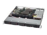 Supermicro SuperServer 1028R-MCTR - Server - Rack-Montage - 1U - zweiweg - RAM 0 MB