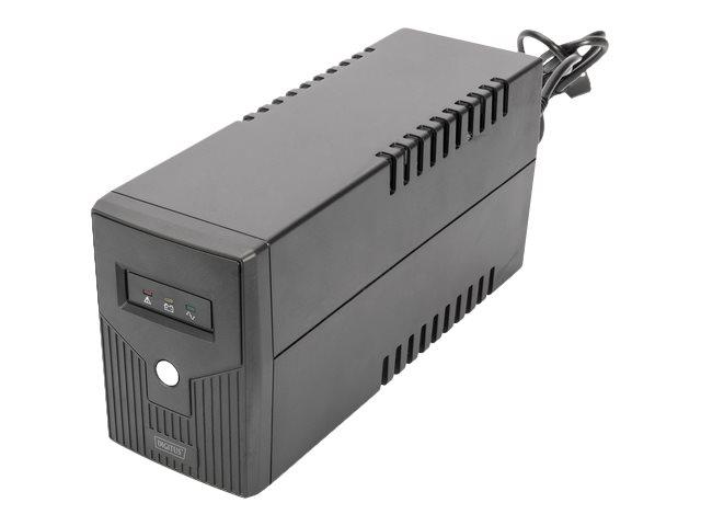 DIGITUS Professional DN-170063 - USV - Wechselstrom 230 V - 360 Watt - 600 VA 7 Ah - USB