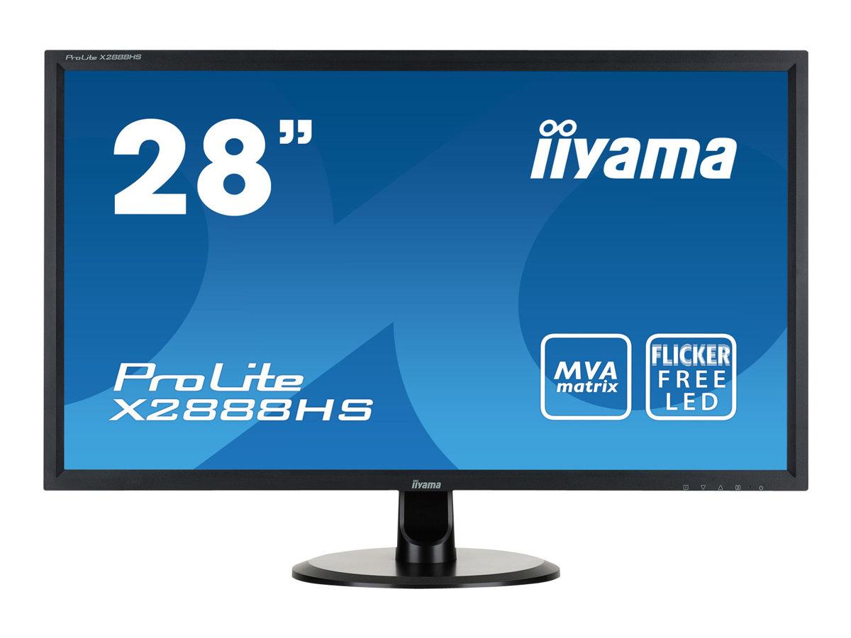 iiyama ProLite X2888HS-B2 - LED-Monitor - 71 cm (28