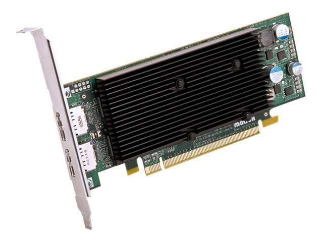 Matrox M9128 LP - Grafikkarten - M9128 - 1 GB DDR2 - PCIe x16 Low-Profile - 2 x DisplayPort