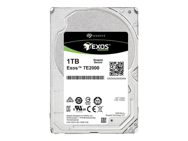 Seagate Exos 7E2000 ST1000NX0333 - Festplatte - 1 TB - intern - 2.5