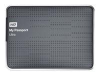 WD My Passport Ultra WDBZFP0010BTT - Festplatte - verschlüsselt - 1 TB - extern (tragbar) - USB 3.0