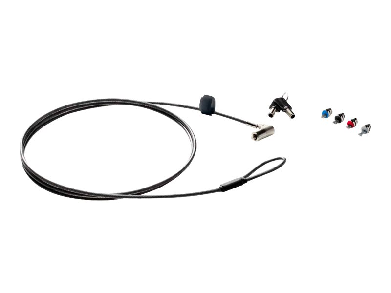 HP Sure Key Cable Lock - Sicherheitskabelschloss - 1.83 m - für EliteBook 735 G6, 745 G6, 840 G6; EliteDisplay E223; ProBook 445