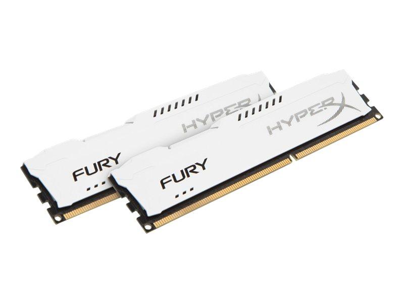 HyperX FURY - DDR3 - 16 GB: 2 x 8 GB - DIMM 240-PIN - 1600 MHz / PC3-12800 - CL10