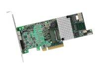 LSI MegaRAID SAS 9271-4i - Speichercontroller (RAID) - 4 Sender/Kanal - SAS Low-Profile - 600 MBps - RAID 0, 1, 5, 6, 10, 50, 60