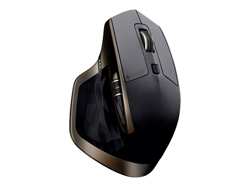 Logitech MX Master - Maus - Laser - 5 Tasten - drahtlos - Bluetooth, 2.4 GHz