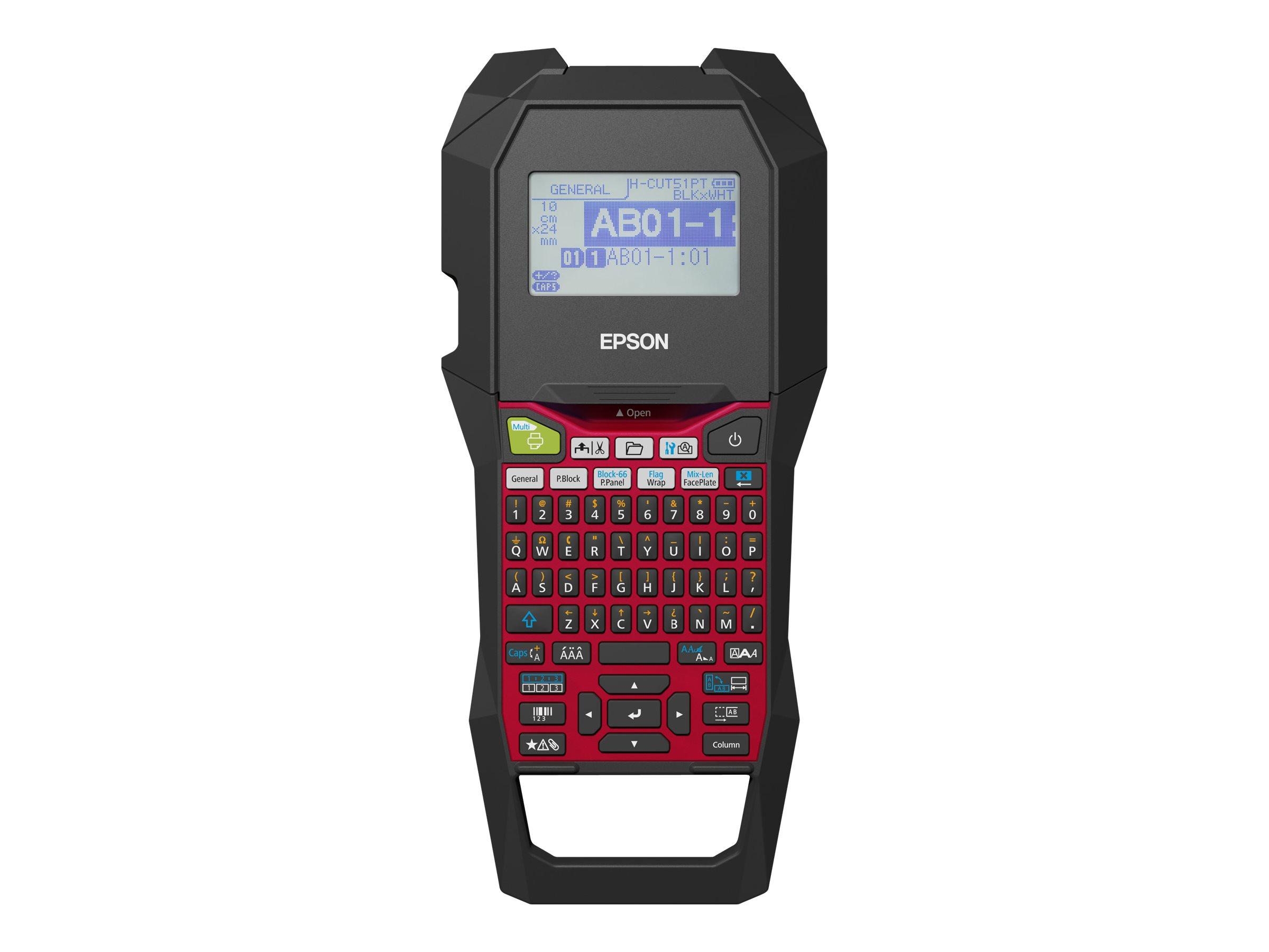 Epson LabelWorks LW-Z700FK - Beschriftungsgerät - s/w - Thermotransfer - Rolle (2,4 cm) - 180 dpi
