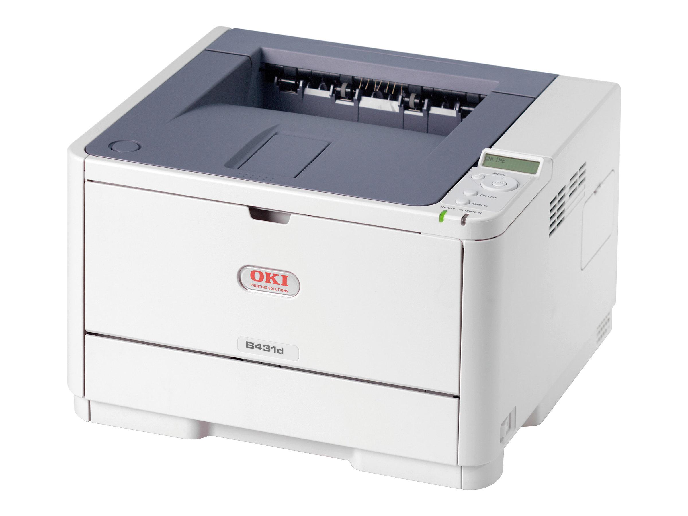 OKI B431d - Drucker - monochrom - Duplex - LED - A4/Legal