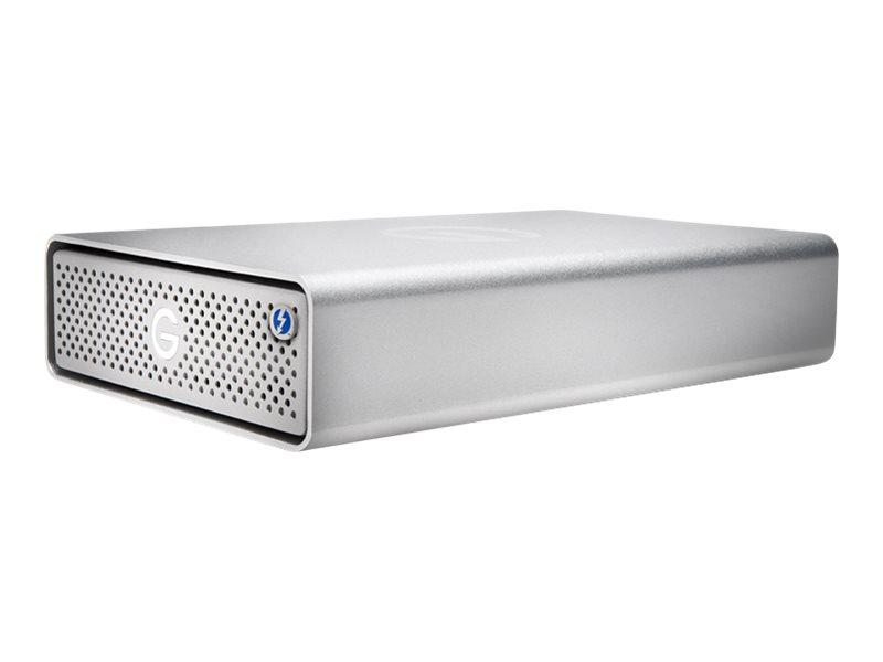 G-Technology G-DRIVE GDRETB3U3EB140001BDB - Festplatte - 14 TB - extern (Stationär) - USB 3.1 Gen 1 / Thunderbolt 3 (USB-C Steck
