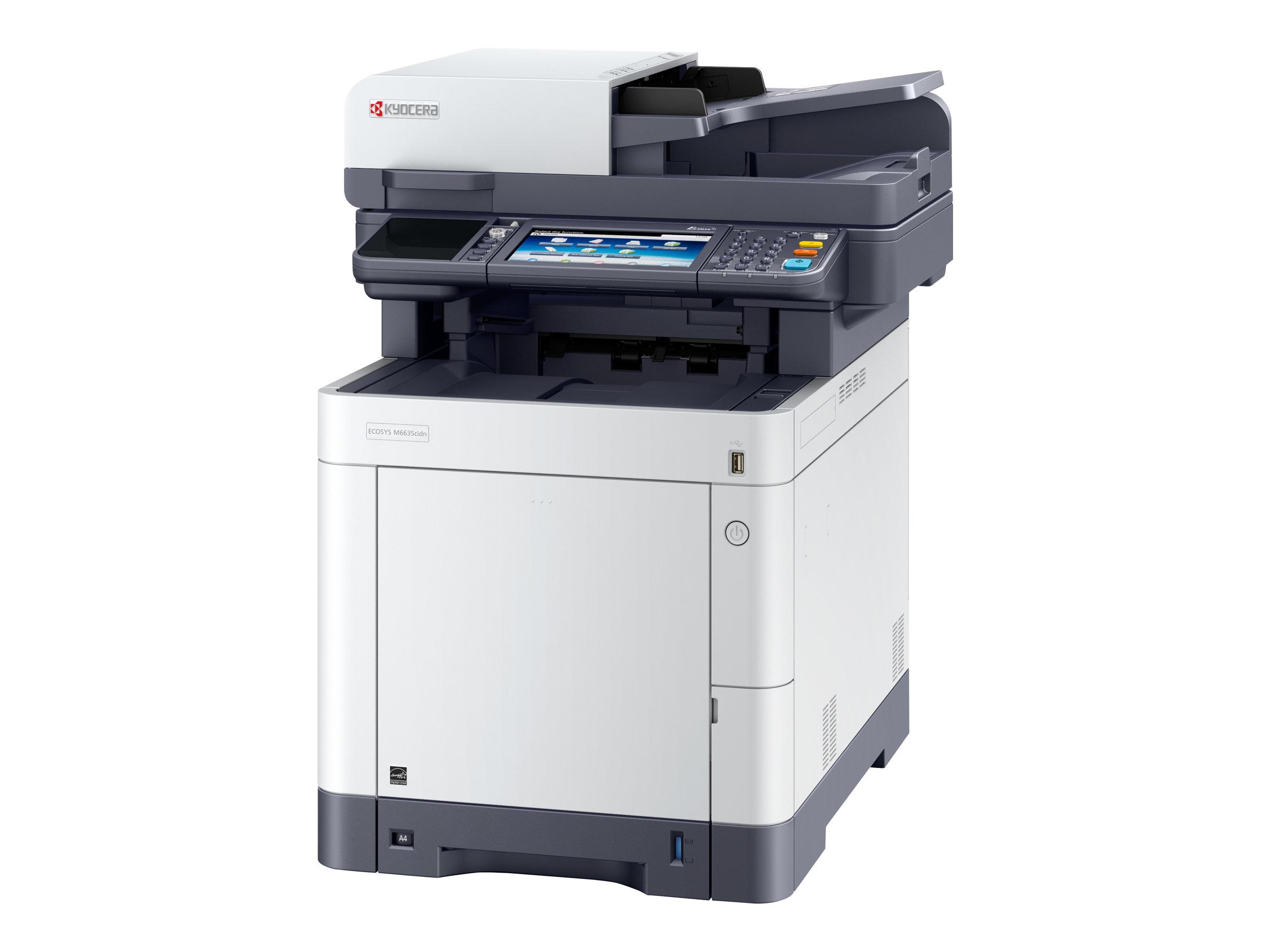 Kyocera ECOSYS M6635cidn - Multifunktionsdrucker - Farbe - Laser - Legal (216 x 356 mm)/A4 (210 x 297 mm) (Original) - A4/Legal