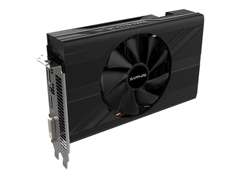 Sapphire Pulse Radeon ITX RX 570 - Grafikkarten - Radeon RX 570 - 4 GB GDDR5 - PCIe 3.0 x16 - DVI, HDMI, DisplayPort