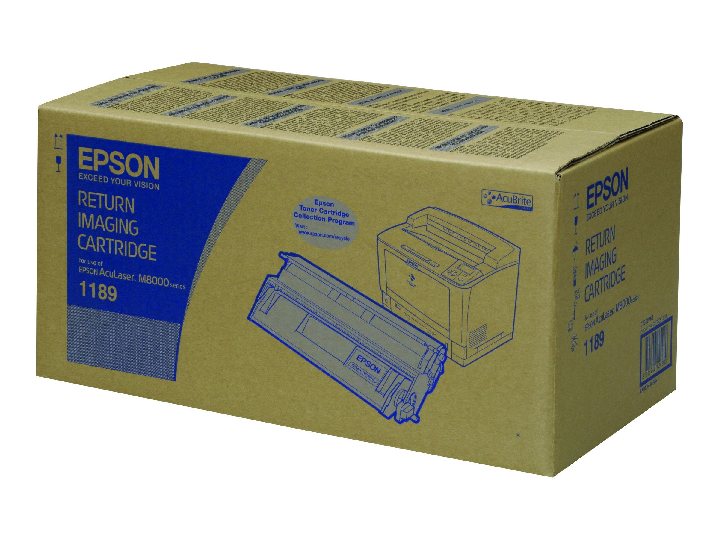 Epson - Schwarz - Original - Tonerpatrone - für AcuLaser M8000D3TN, M8000DN, M8000DTN, M8000N, M8000TN