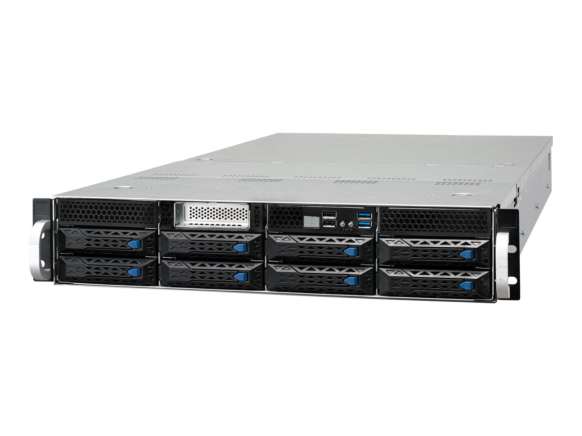 ASUS ESC4000 G4 - Server - Rack-Montage - 2U - zweiweg - keine CPU