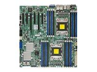 SUPERMICRO X9DRE-LN4F - Motherboard - Erweitertes ATX - LGA2011-Sockel - 2 Unterstützte CPUs - C602