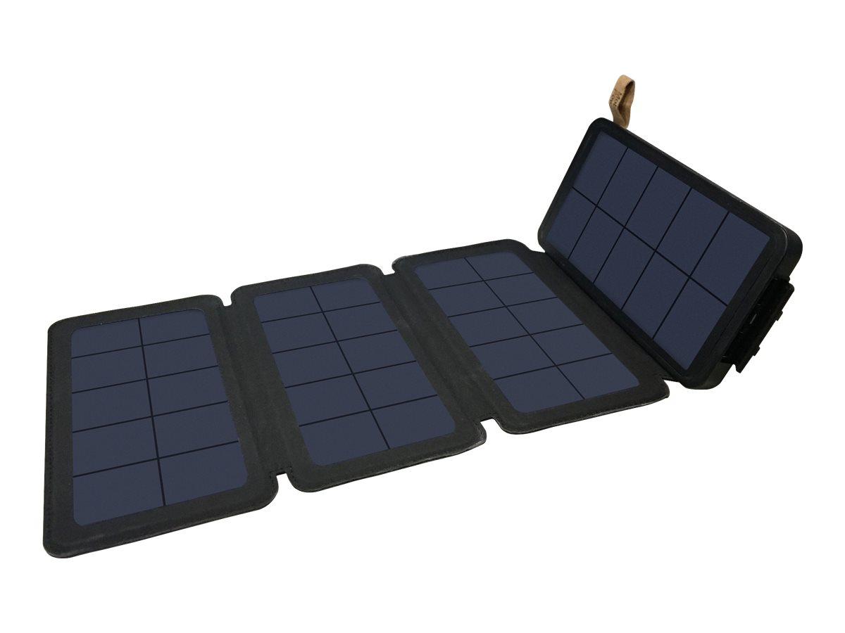 Sandberg Solar PowerBank - Solar-Powerbank - Li-Pol - 12000 mAh - 44 Wh - 2 A (USB)
