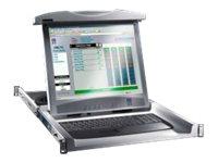 Rittal Monitor/Keyboard Unit - LCD-Monitor - 43.2 cm (17