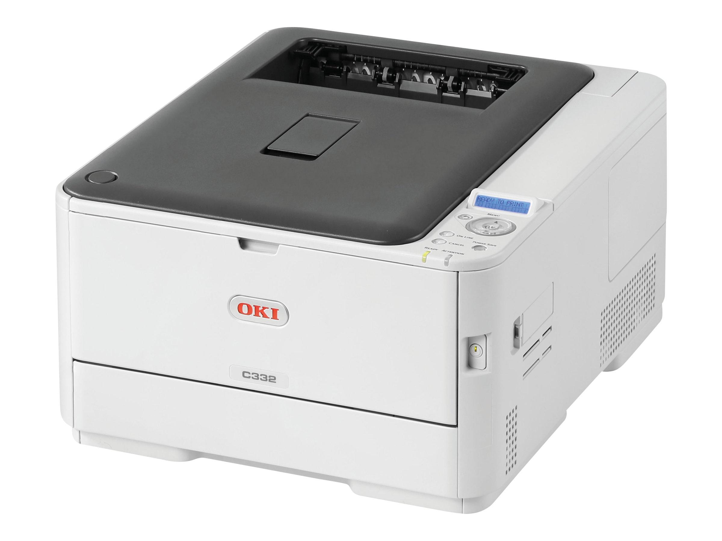 OKI C332dn - Drucker - Farbe - Duplex - LED - A4