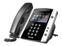 Polycom VVX 600 - VoIP-Telefon - H.323, SIP, RTCP, RTP, SRTP - mehrere Leitungen