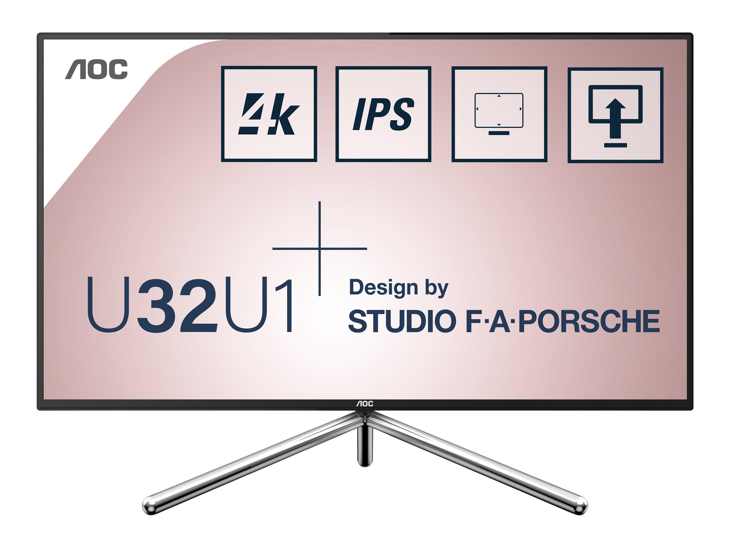 AOC U32U1 - LED-Monitor - 80 cm (31.5