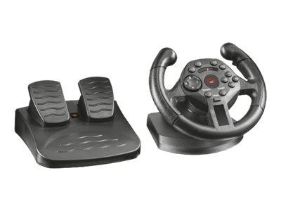 Trust GXT 570 Compact - Lenkrad- und Pedale-Set - kabelgebunden - für PC, Sony PlayStation 3