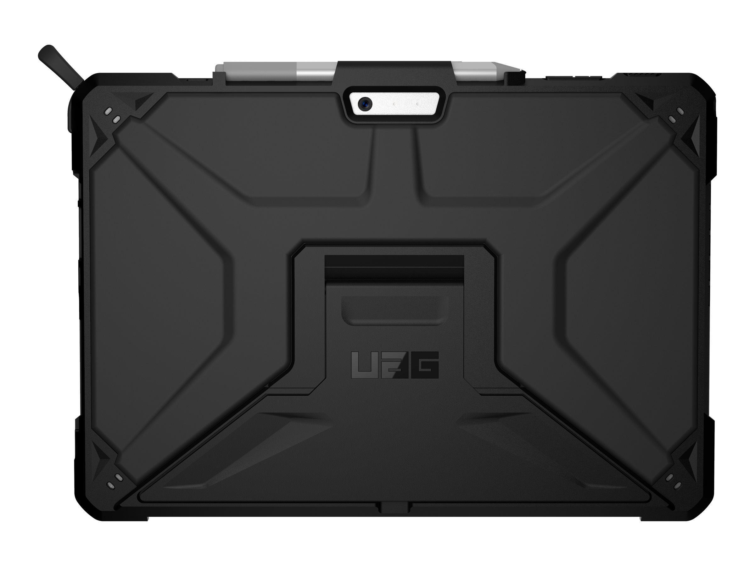 UAG Rugged Case for Surface Pro 7+/7/6/5//4 - Metropolis SE Black - Hintere Abdeckung für Tablet - widerstandsfähig - Schwarz -