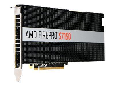 AMD FirePro S7150 - Grafikkarten - FirePro S7150 - 8 GB GDDR5 - PCIe 3.0 x16