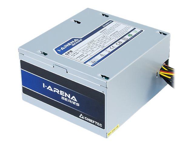 Chieftec iARENA GPB-400S - Stromversorgung (intern) - ATX12V 2.3/ PS/2 - 80 PLUS Bronze - Wechselstrom 230 V - 400 Watt