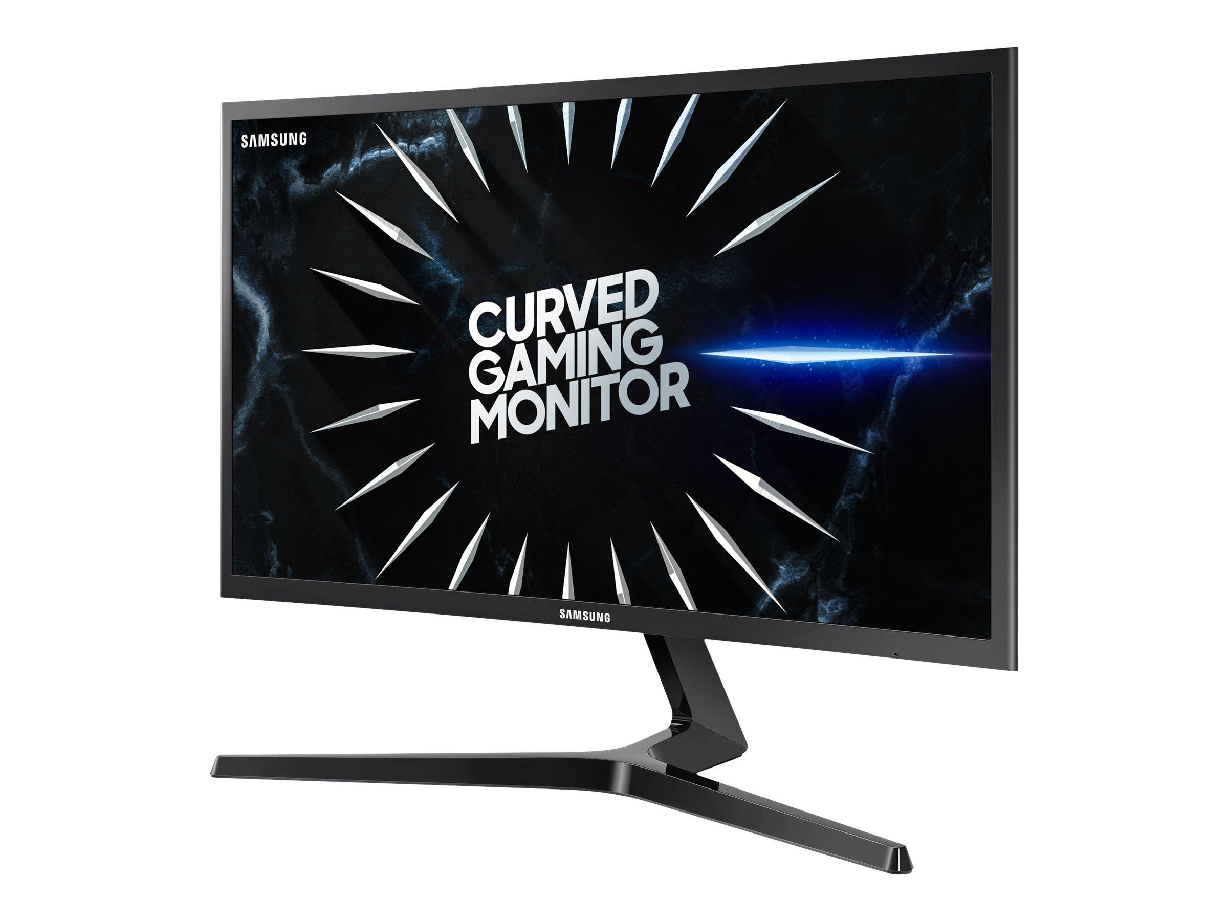 Samsung C24RG50FQU - CRG50 Series - LED-Monitor - gebogen - 59 cm (24