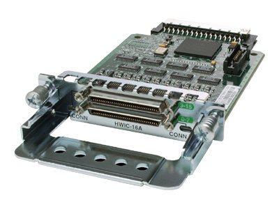 Cisco High-Speed - Erweiterungsmodul - RS-232 x 16 - für Cisco 18XX, 1921 4-pair, 1921 ADSL2+, 1921 T1, 19XX, 28XX, 29XX, 38XX,